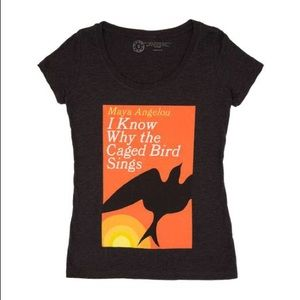Out of Print I Know Why the Caged Bird Sings shirt